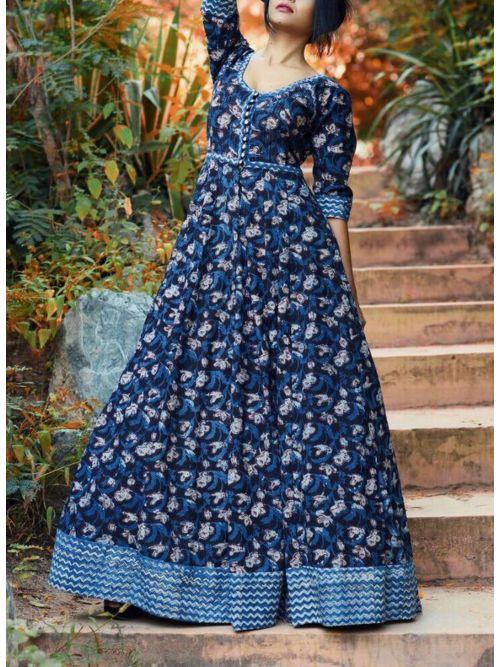 Long  Fancy Beautiful Gown