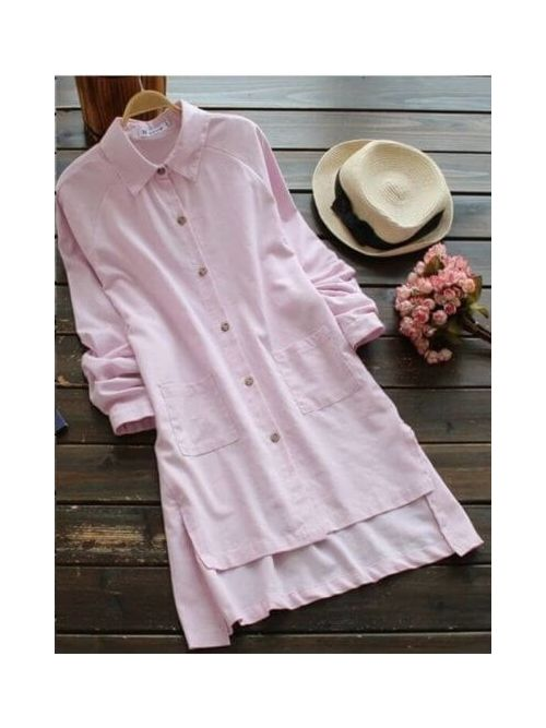 Solid Styles Pink Top