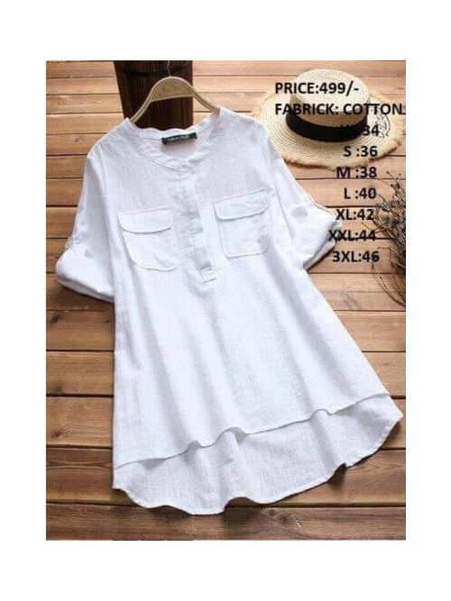 Solid Styles White Top