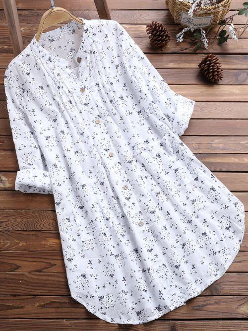 Floral Printed Casual Shirts
