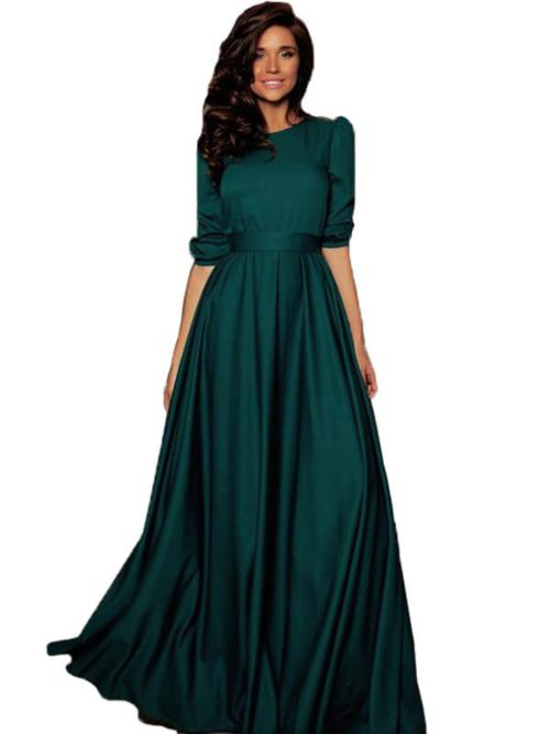Long And Attractive Gown