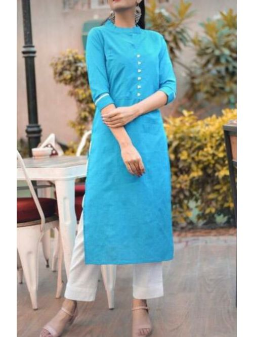 Simple Daily Wear Kurti With Pant