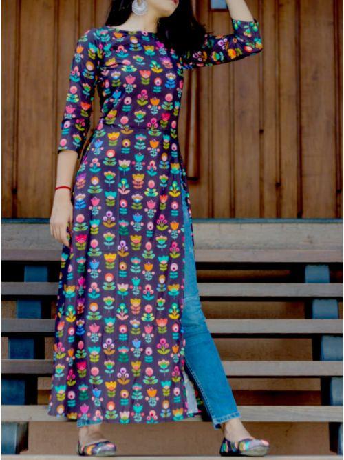Readymade Stylish Printed Kurti