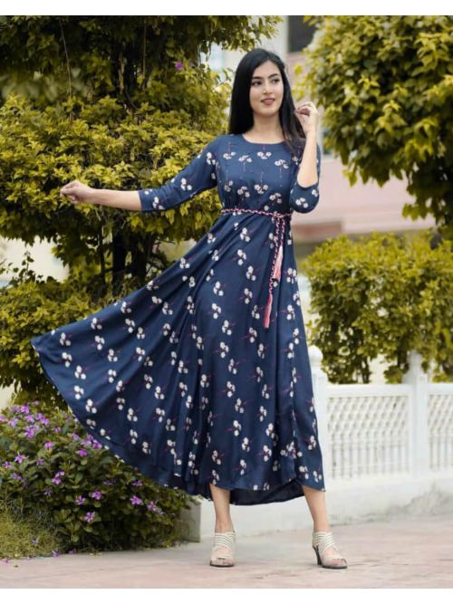 Womens Midi Printed Dresses
