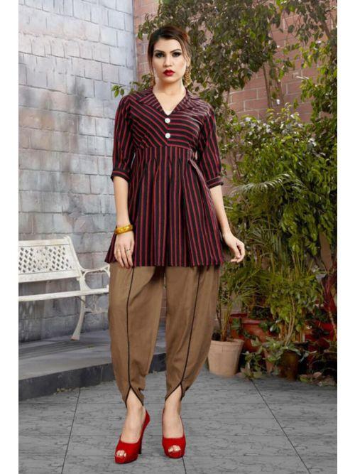 Multi Colour Patiyala Suit