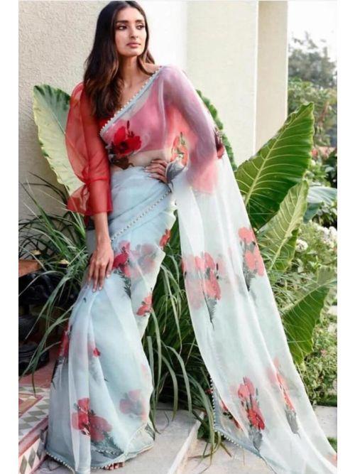 Self Design Fashion Saree