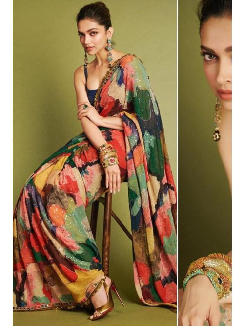 Latest Bollywood Style Saree